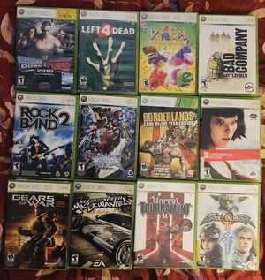 12 Xbox 360 games for Sale in Lutz, FL