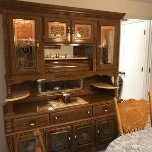 China cabinet two piece set for Sale in Fort Washington, MD