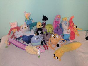 Adventure Time Plush Toy Collection for Sale in San Diego, CA