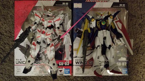 Pair of new gundam anime figures!