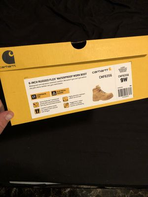 Carhartt composite toe waterproof boots for Sale in Brooksville, FL