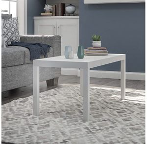 NEW in Box, White Parson Coffee Table for Sale in Houston, TX