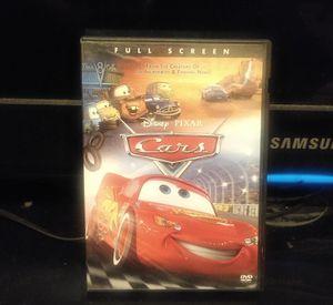 🎥 DVD movie car walp Disnep $3 for Sale in Los Angeles, CA