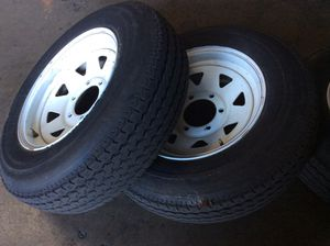 Trailer tires and wheels for Sale in Norwalk, CA