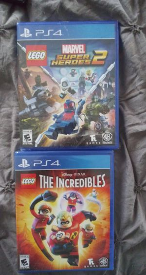 2 New PS4 games for Sale in Saint Paul, MN
