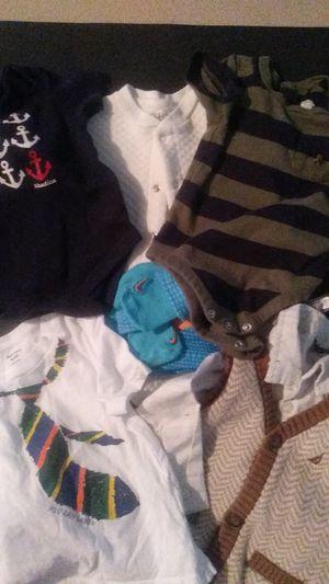 Baby boy clothing bundle 3/6/9 for Sale in Ypsilanti, MI