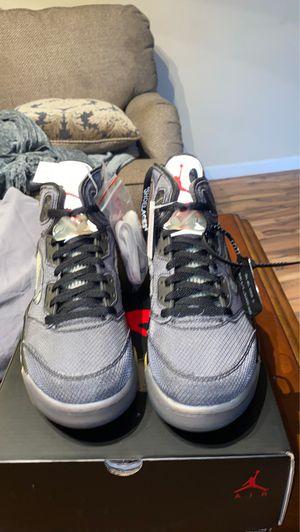 Off white Jordan 5 for Sale in Sorrento, FL