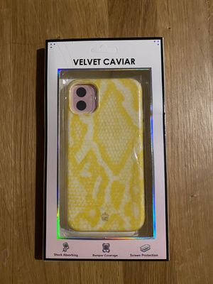 Velvet Caviar iPhone 11 case NIB for Sale in Lakewood, CO