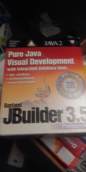 Borland jbuilder 3.5 pro. for Sale in Newark, CA