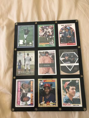 Rare collectible cards football,baseball for Sale in Waddell, AZ