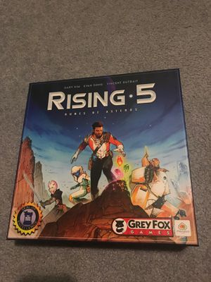 Rising 5 tubes of asteros board game for Sale in Graham, WA