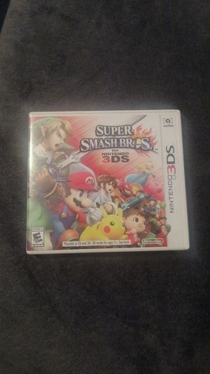 Super smash Bros 3DS for Sale in Westminster, CO
