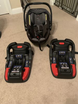 Britax Car Seat and Two Bases for Sale in undefined