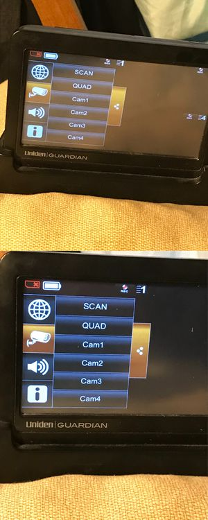 UNIDEN GUARDIAN CAMERA MONITOR for Sale in San Jose, CA