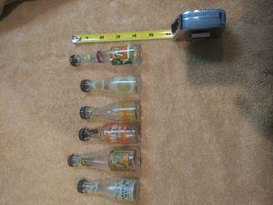 6 antique miniture soda bottles. for Sale in Naperville, IL