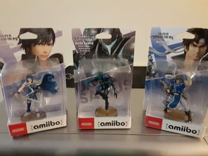 Dark Samus, Chrom And Richter Amiibo SEALED NEW for Sale in Braintree, MA