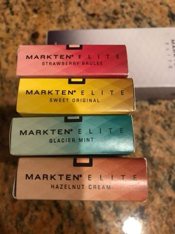 Mark Ten complete set with 4 new sealed pack cartridges