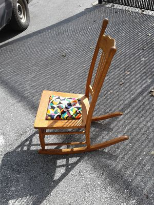 A hundred percent okay child's rocker chair for Sale in Hyattsville, MD