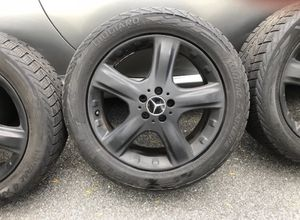 """Mercedes Benz Tires with black 19"""" Rims for Sale in Billerica, MA"""