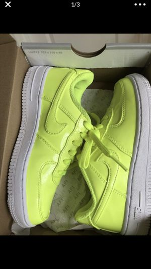 Nike volt green Air Force 1 12c for Sale in Vancouver, WA