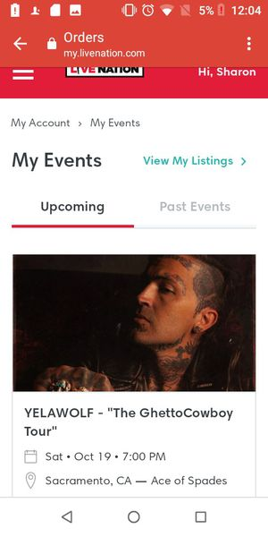 Yelawolf tickets for Sale in Fresno, CA