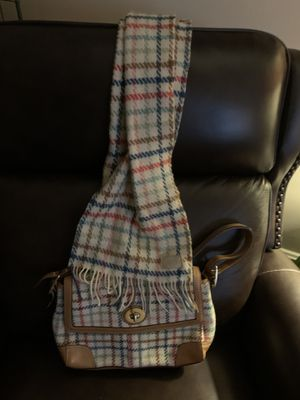 Coach purse & scarf like new Authentic for Sale in Greensburg, PA