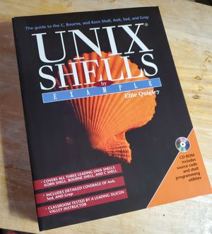 INIX SHELLS BY EXAMPLE WITH UNOPENED CD LIKE NEW for Sale in Fenton, MO