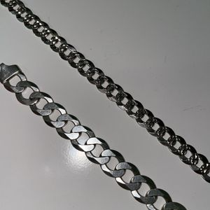 925 Silver Chain And Bracelet for Sale in Chicago, IL