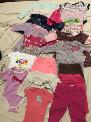 Baby girl clothes 20 pieces 3-6 months for Sale in North Las Vegas, NV