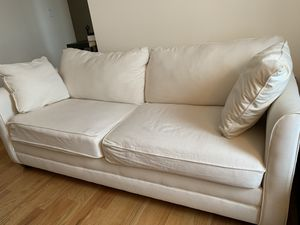 White sofa (free) (West Village) for Sale in New York, NY
