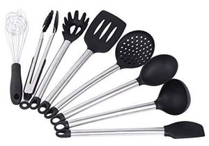Kitchen Utensil Set - Best Cooking Utensils - Nonstick Cooking Spatulas - Best Kitchen Tools - For Non-Stick Pots and Pans - Serving Tongs, Spoon, Sp for Sale in Plainfield, NJ