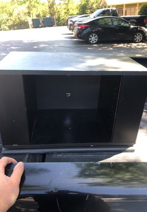 Rotating TV stand with side shelves for Sale in Nashville, TN