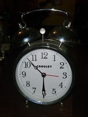Vintage Crosley Metal Alarm Clock for Sale in Coconut Creek, FL