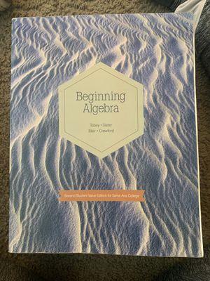 Book Beginning Algebra for Sale in Santa Ana, CA