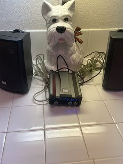 Dual Outdoor Bluetooth Amp And Speakers for Sale in Camp Pendleton North,  CA