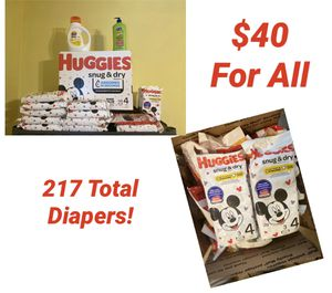 Size 4 Huggies Bundle for Sale in Grand Prairie, TX
