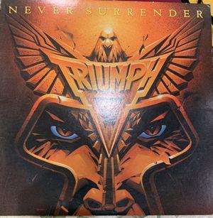 Triumph Never Surrender Label 1983 vinyl for Sale in North Highlands, CA
