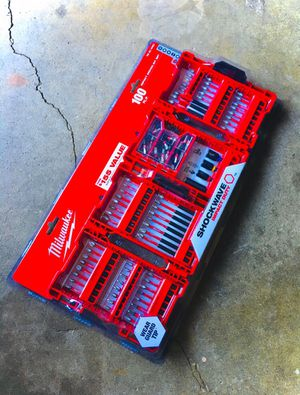New Milwaukee 100pc SHOCKWAVE Alloy Steel Impact Duty Driver Bit Set for Sale in Modesto, CA