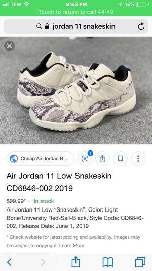 Jordan 11 snakeskin for Sale in Nashville, TN