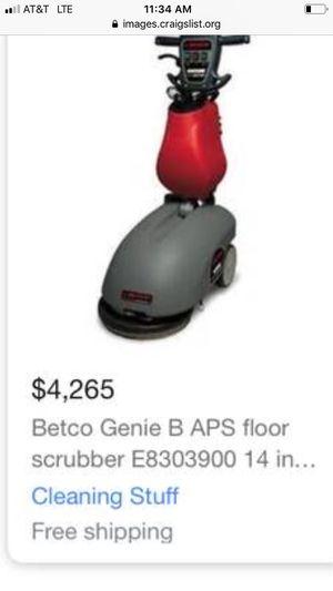 Betco Genie b floor scrubber for Sale in Smyrna, GA