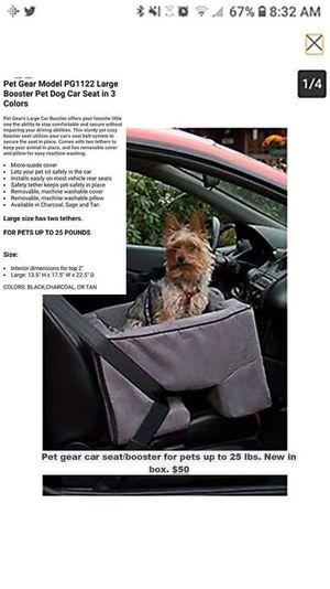 Pet booster/car seat for Sale in Abingdon, VA
