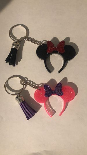 Mickey ears keychains for Sale in Moreno Valley, CA