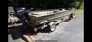 Grizzly tracker 1448 boat for sale for Sale in Burtonsville, MD