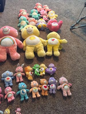 Care Bears stuffed animal plush collection for Sale in Katy, TX