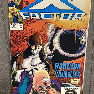 Marvel Comics X-FACTOR #88 Comic Book - PoFirst Print - Key Issue - First Appearance Of RANSOM !!! for Sale in Plainfield, IL