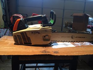 Stihl ms192tc arborist chainsaw refurbished for Sale in Stafford, VA