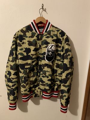 Bape Varsity Football Jacket for Sale in Seattle, WA