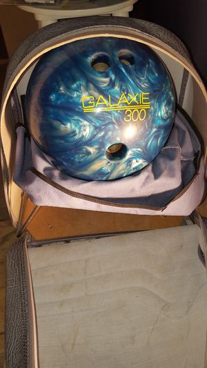 Galaxie Bowling Ball with Case. for Sale in Mifflinburg, PA