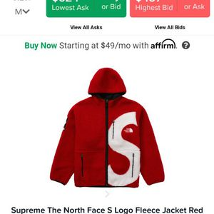 North Face Supreme Fleece Size Med Brand New Still In Bag for Sale in Southington, CT