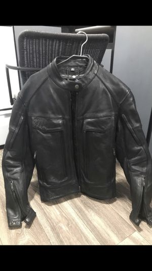 Xpert Performance Gear Heavy Leather Kevlar Motorcycle Jacket for Sale in Tigard, OR